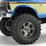 CARISMA 79868 SCA-1E 1976 FORD F150 (Blue) TRUCK RTR inc ALLOY WHEEL SET.