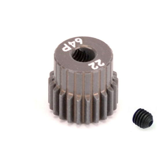 16422 - SMD 22 Tooth 64DP Pinion Gear for 1/10th and 1/12 Pan Car