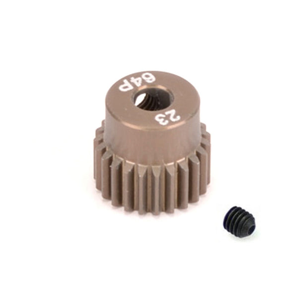 16423 - SMD 23 Tooth 64DP Pinion Gear for 1/10th and 1/12 Pan Car