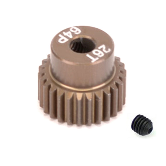 16426 - SMD 26 Tooth 64DP Pinion Gear for 1/10th and 1/12 Pan Car