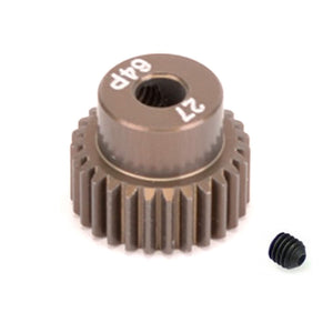 16427 - SMD 27 Tooth 64DP Pinion Gear for 1/10th and 1/12 Pan Car