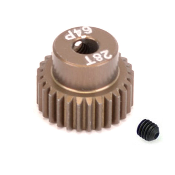16428 - SMD 28 Tooth 64DP Pinion Gear for 1/10th and 1/12 Pan Car