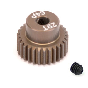 16429 - SMD 29 Tooth 64DP Pinion Gear for 1/10th and 1/12 Pan Car