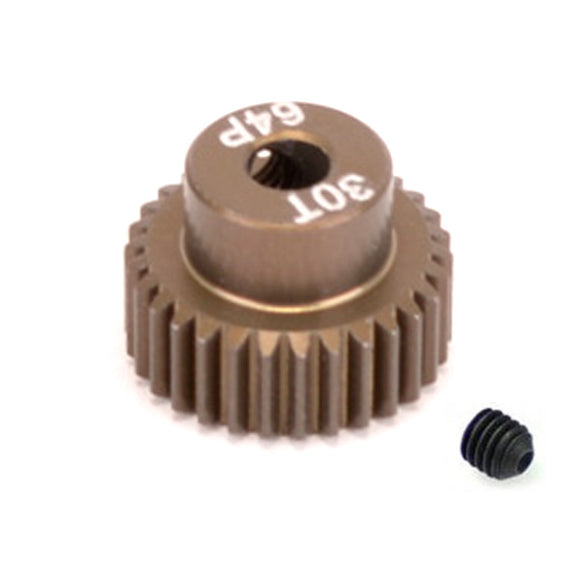 16430 - SMD 30 Tooth 64DP Pinion Gear for 1/10th and 1/12 Pan Car