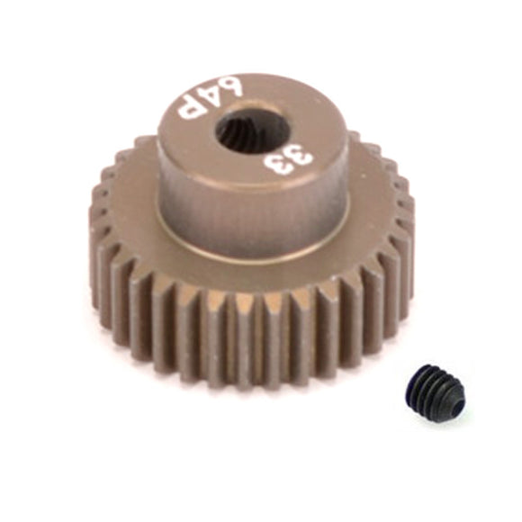 16433 - SMD 33 Tooth 64DP Pinion Gear for 1/10th and 1/12 Pan Car