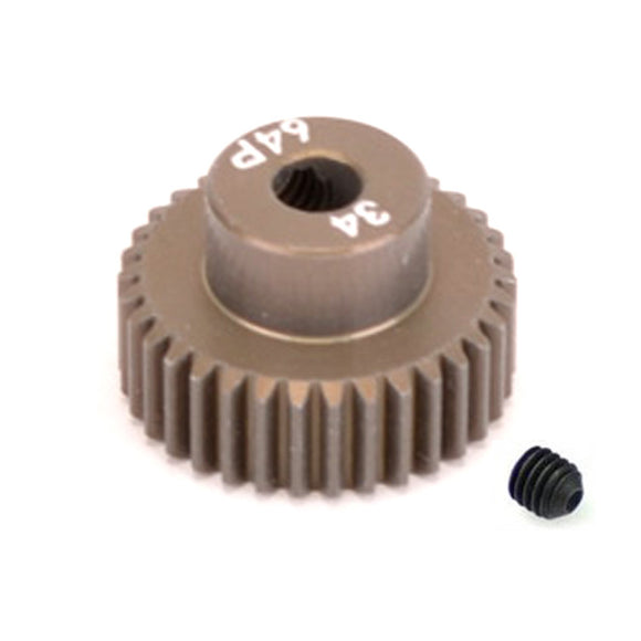 16434 - SMD 34 Tooth 64DP Pinion Gear for 1/10th and 1/12 Pan Car