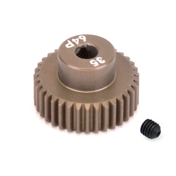 16435 - SMD 35 Tooth 64DP Pinion Gear for 1/10th and 1/12 Pan Car
