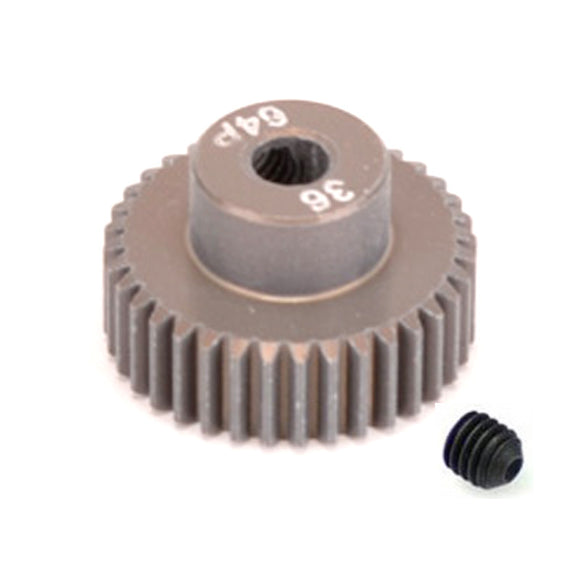 16436 - SMD 36 Tooth 64DP Pinion Gear for 1/10th and 1/12 Pan Car