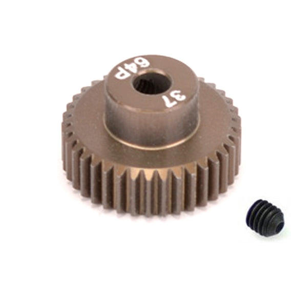 16437 - SMD 37 Tooth 64DP Pinion Gear for 1/10th and 1/12 Pan Car