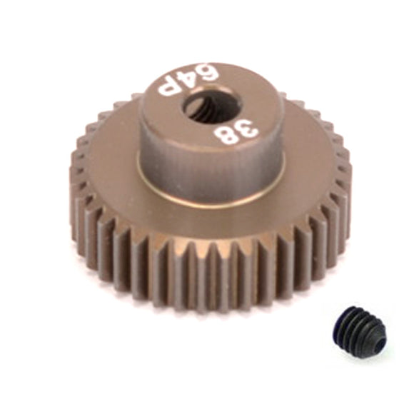 16438 - SMD 38 Tooth 64DP Pinion Gear for 1/10th and 1/12 Pan Car
