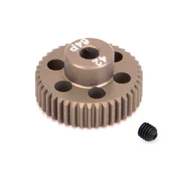 16442 - SMD 42 Tooth 64DP Pinion Gear for 1/10th and 1/12 Pan Car