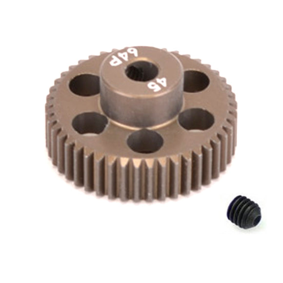 16445 - SMD 45 Tooth 64DP Pinion Gear for 1/10th and 1/12 Pan Car