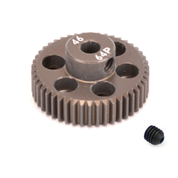 16446 - SMD 46 Tooth 64DP Pinion Gear for 1/10th and 1/12 Pan Car