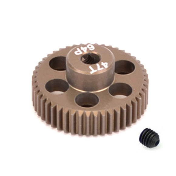 16447 - SMD 47 Tooth 64DP Pinion Gear for 1/10th and 1/12 Pan Car