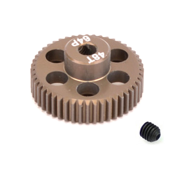 16448 - SMD 48 Tooth 64DP Pinion Gear for 1/10th and 1/12 Pan Car