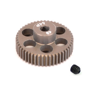 16449 - SMD 49 Tooth 64DP Pinion Gear for 1/10th and 1/12 Pan Car