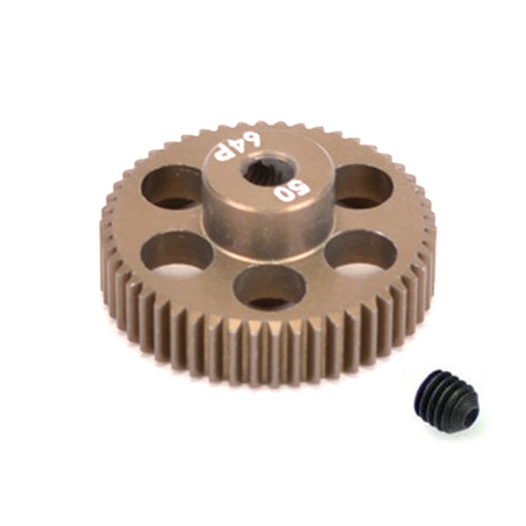16450 - SMD 50 Tooth 64DP Pinion Gear for 1/10th and 1/12 Pan Car