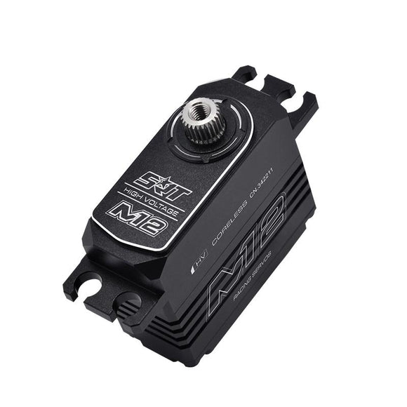 SRT M12 Pan Car Servo 6.5KG - 0.08 sec at 6V Metal Case