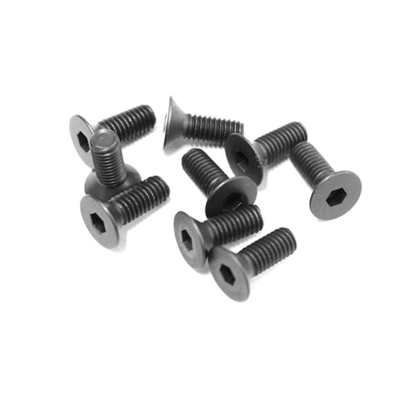 CARISMA 4XS FLAT HEAD SCREW M3 X8MM