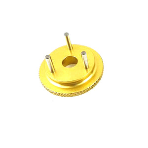 Hong Nor #407A - 3-Pin Flywheel, 9mm (gold)