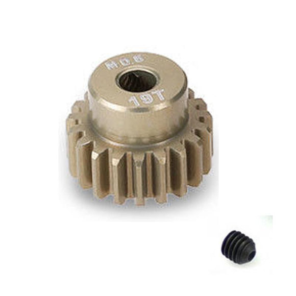 19 Tooth 0.6 Module Pinion Gear