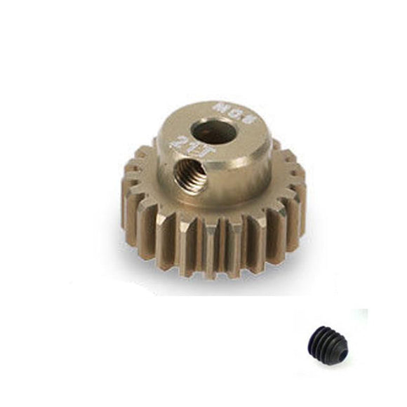21 Tooth 0.6 Module Pinion Gear