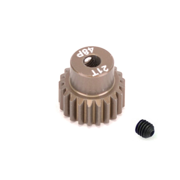 14821 - SMD 48dp 21T pinion gear for 1/10th Car