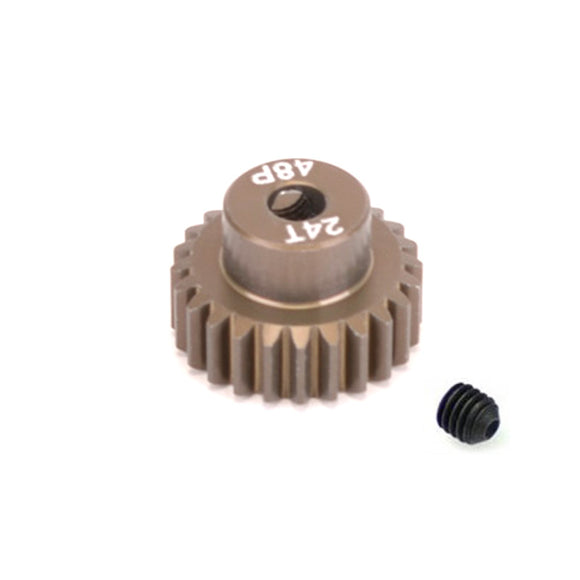 14824 - SMD 48dp 24T pinion gear for 1/10th Car