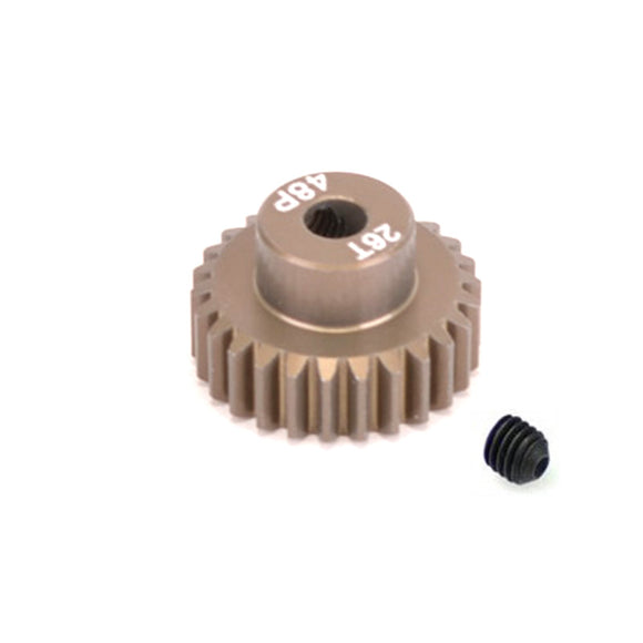 14826 - SMD 48dp 26T pinion gear for 1/10th Car