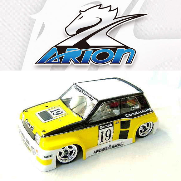 Arion - Renault 5 M-Class Body WB-210mm for Tamiya M-03/M-05