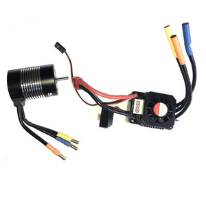 365039C-V2 - SMD brushless combo 1/10th scale sensorless 3900KV motor + 60A ESC