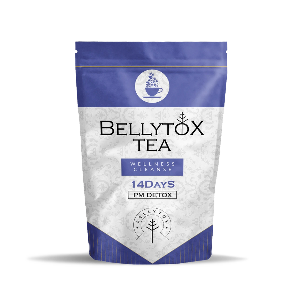 14 Day PM Tea Detox for a Flat Tummy | Bellytox Tea