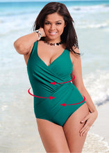 Plus Size New Swimsuit Retro Vintage Bathing Suit Beachwear M--4XL 1 pc/set