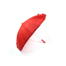 Creative heart shaped long-handled sun rain wedding party umbrella