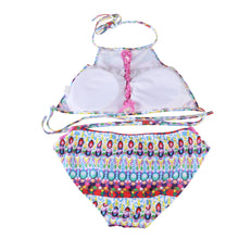 Sexy Two Piece Padded Hollow Swimsuit Bathing Suit S