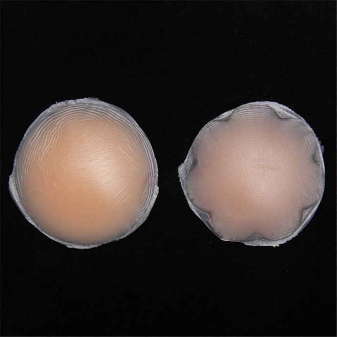 5 Pair Diameter 6 cm Hot Reusable Invisible Self Adhesive Silicone Breast Chest Nipple Cover Breast Petals