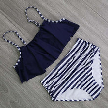 Women High Waist Swimsuit Halter Sexy Bikini 2 pc / Set  (S - XXL)