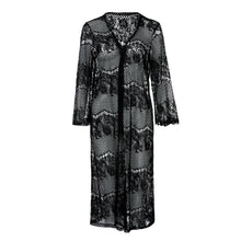 Women Fashion Lace Bathing Dress Swim Cover-ups S-XL