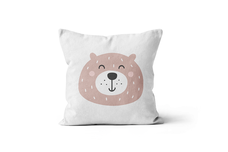 Bear Scatter Cushion
