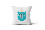 Blue Bear Scatter Cushion