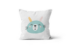 Blue Bunny Scatter Cushion