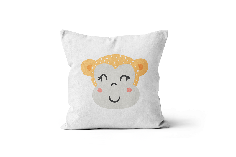 Monkey Scatter Cushion
