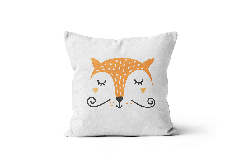 Mrs Fox Scatter Cushion