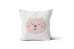 Pink Bear Scatter Cushion