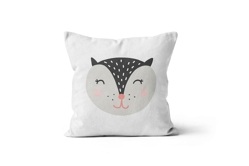 Squirrel Scatter Cushion