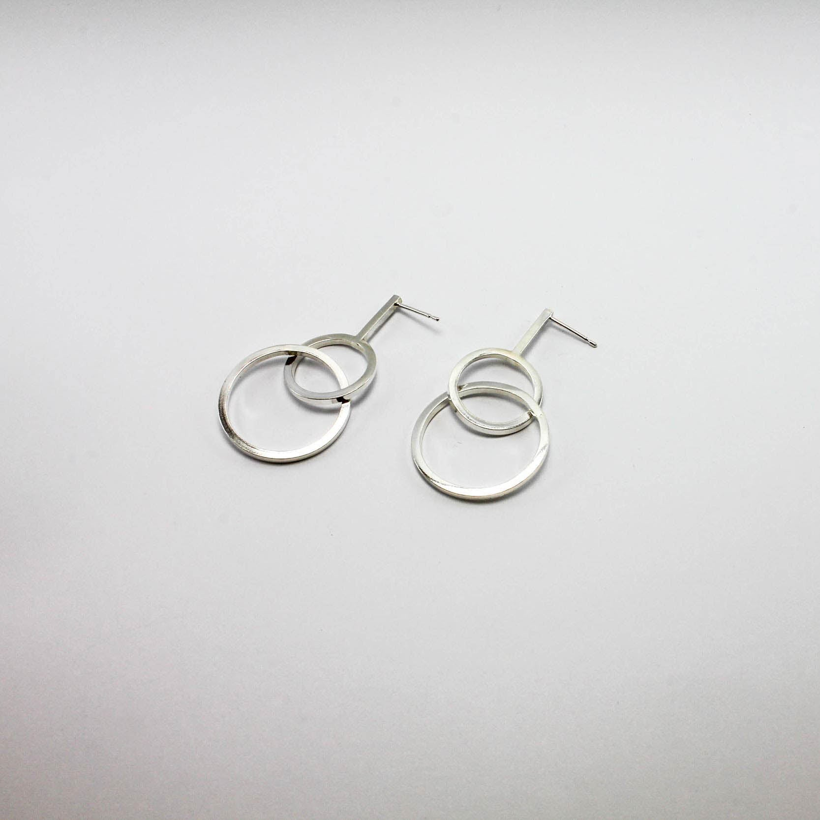 Deconstructed Radio Earrings