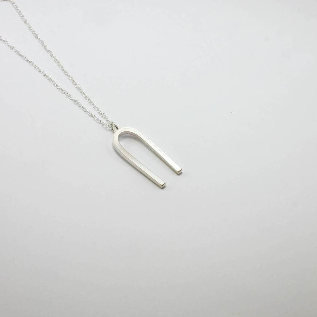 Tuning Fork Necklace