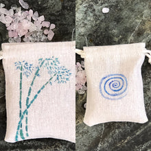 Load image into Gallery viewer, Gratitude Pouch - Blue & Tansy