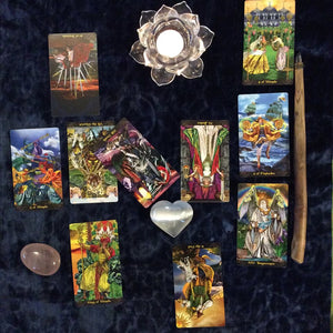 Tarot Reading Sessions - Blue & Tansy