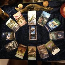 Load image into Gallery viewer, 2020 Tarot forecast reading. - Blue & Tansy
